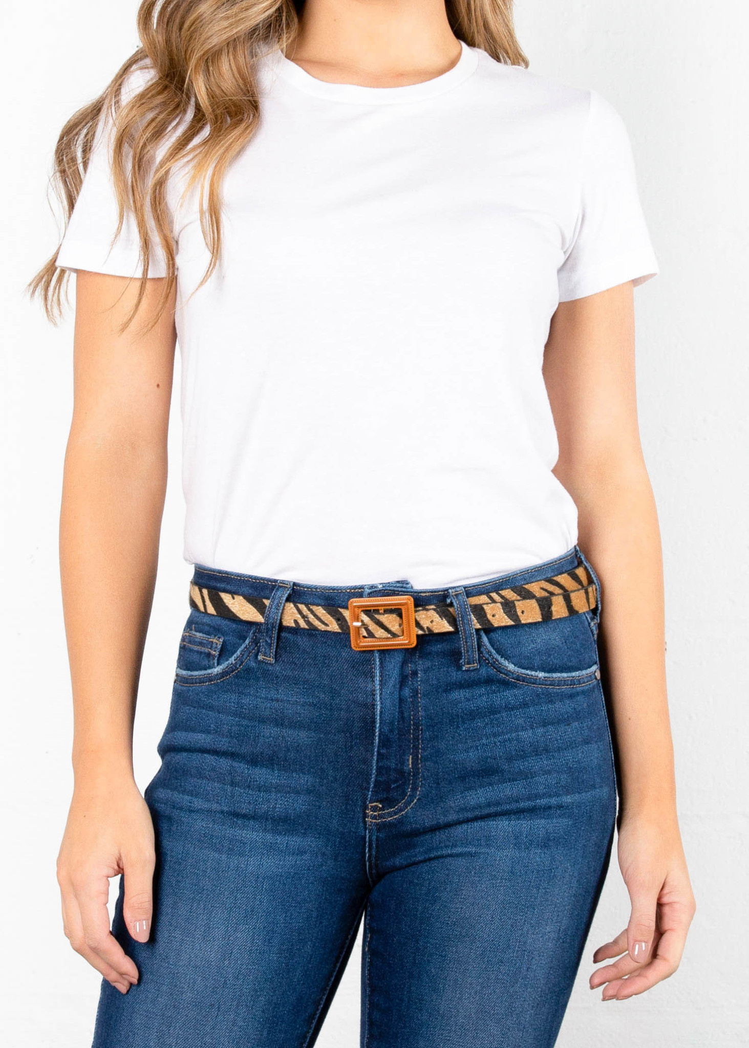 TIME WILL TELL PRINTED BELT
