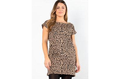MODERN TWIST LEOPARD DRESS