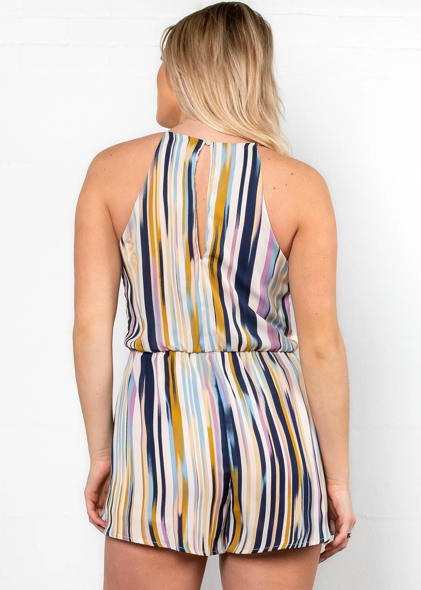 FRESH APPROACH PRINTED ROMPER