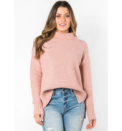 CASUAL OBSESSION TURTLENECK SWEATER