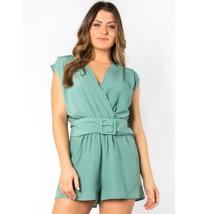 HAPPY DAYS SLEEVELESS ROMPER