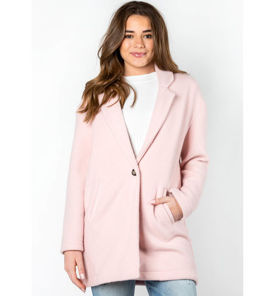 LANGUAGE OF LOVE PINK COAT