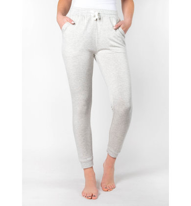 SLICE OF HEAVEN GREY JOGGERS