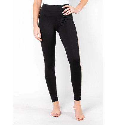 VICTORY LAP STRIPED LEGGINGS
