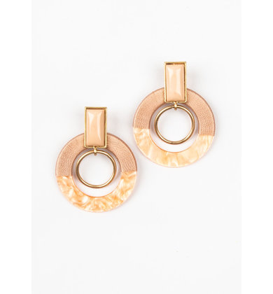 LADIES NIGHT BLUSH EARRINGS