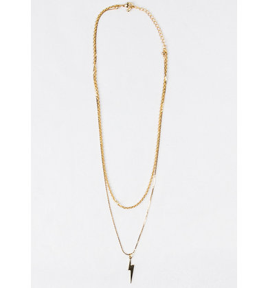STRUCK BY YOU LAYERED NECKLACE