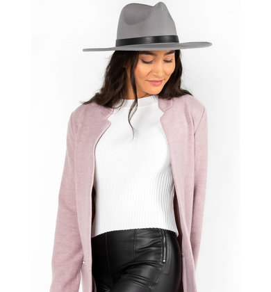 SIMPLE FAVOR  GREY HAT