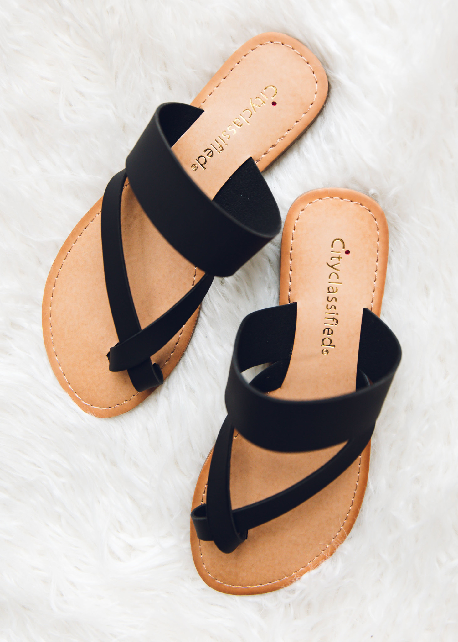 DANCE IN THE SAND STRAPPY SANDALS