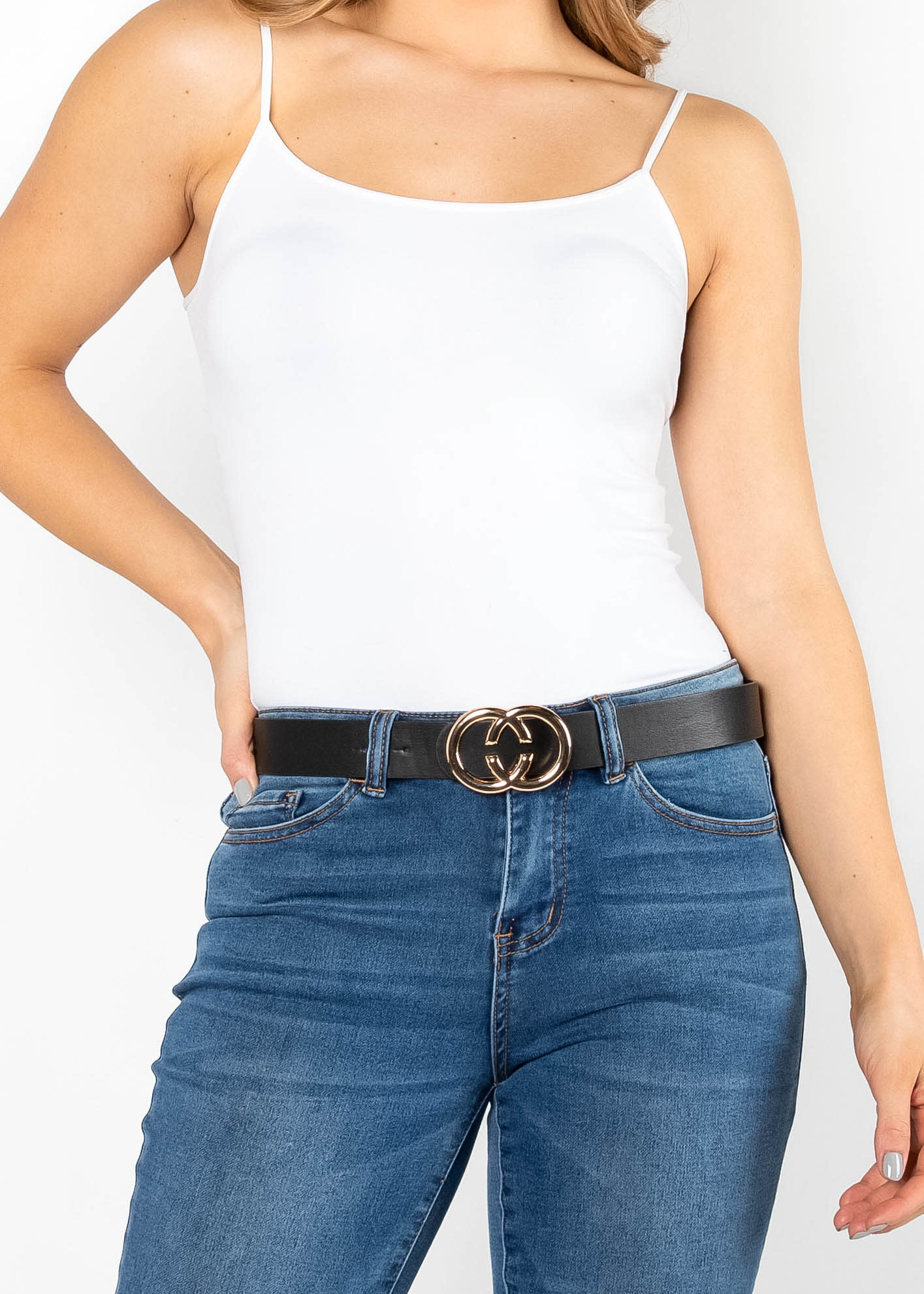 FINISHING TOUCH BELT - BLACK