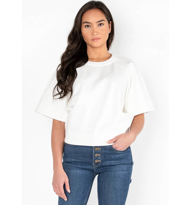ASK AROUND SHORT SLEEVE TOP