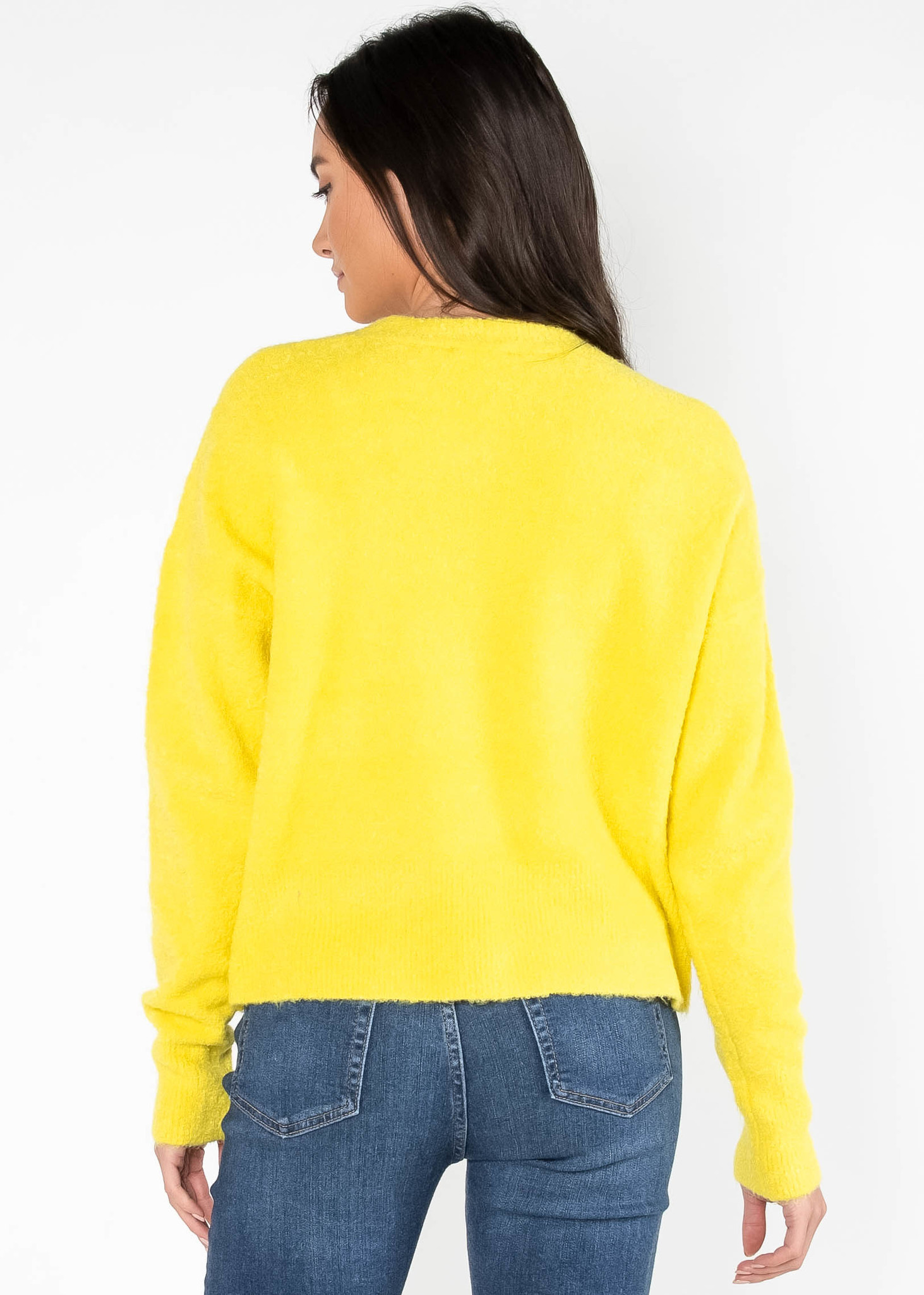 BRINK OF FALLING NEON SWEATER
