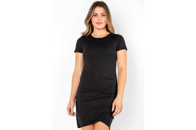EVERYDAY GIRL RUCHED DRESS