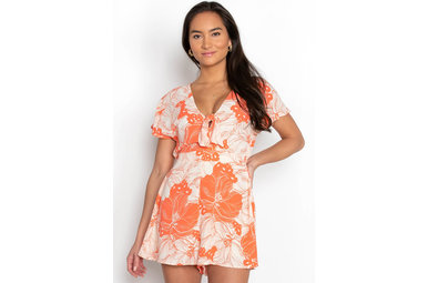 SANGRIAS AT SUNSET ROMPER