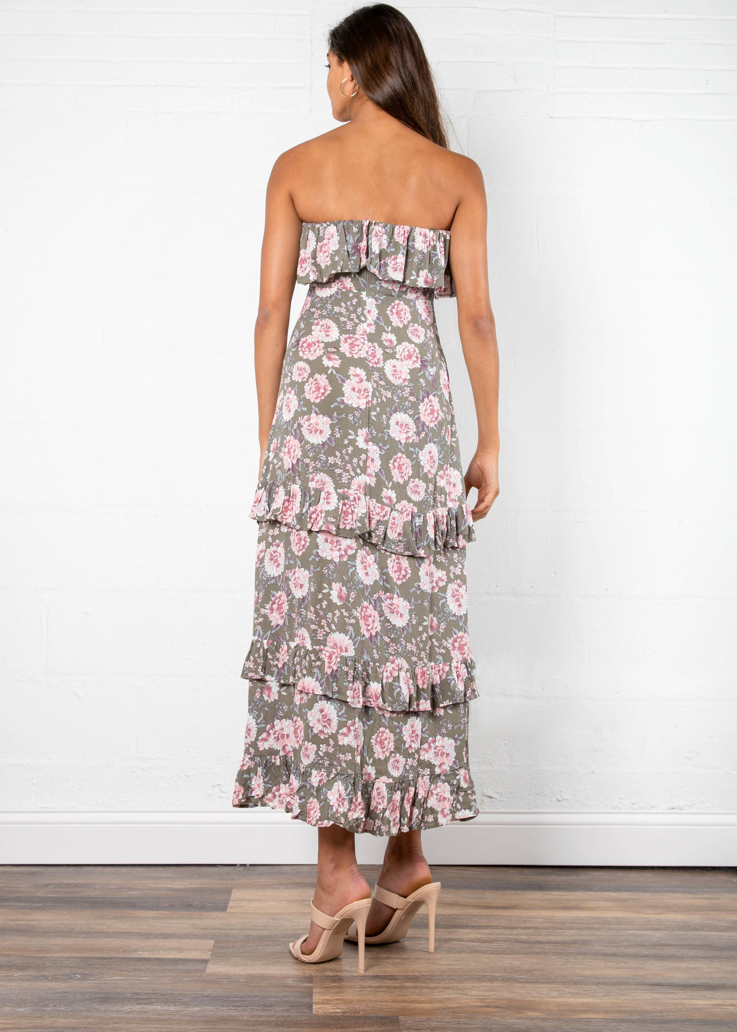 POPPY STRAPLESS MAXI DRESS