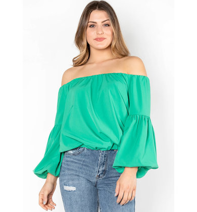 FRESH START OFF THE SHOULDER TOP
