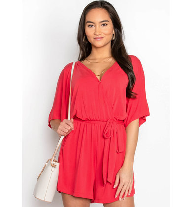 READY FOR A TRIP ROMPER