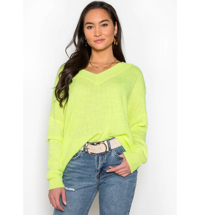 AFTER GLOW NEON SWEATER