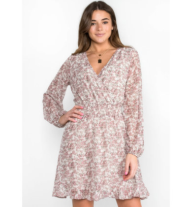 CRAVING SPRING LONG SLEEVE DRESS