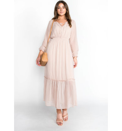 SKY FULL OF STARS MAXI DRESS