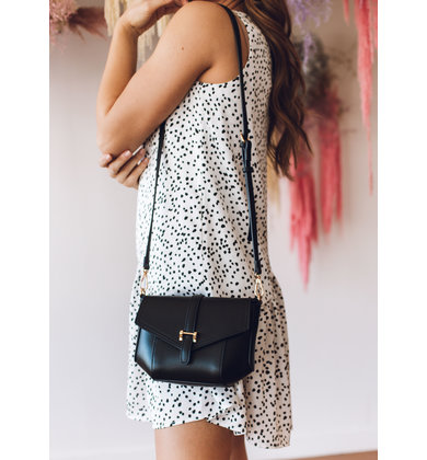 BENSON CROSSBODY BAG - BLACK
