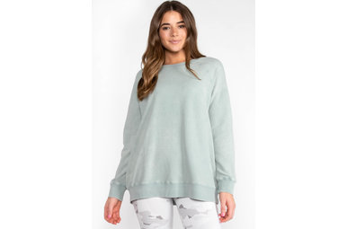 RENEW LIGHTWEIGHT SWEATER - SAGE
