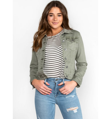 QUEENSTOWN CROPPED JACKET