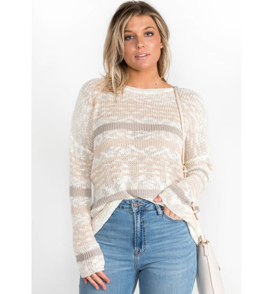 KNOW ABOUT IT LIGHTWEIGHT SWEATER