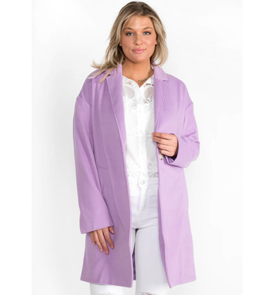 SWEETER STILL LAVENDER COAT