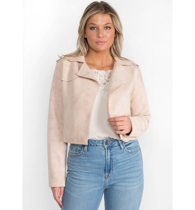 WONDER + AWE BLUSH JACKET