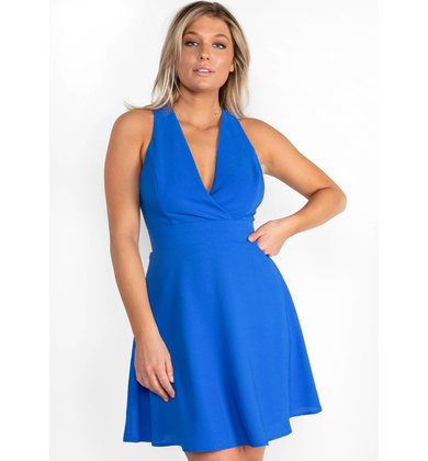 KISSED BY SUNSHINE BLUE DRESS
