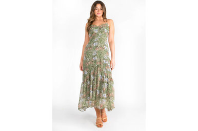 READY SET SPRING MAXI DRESS