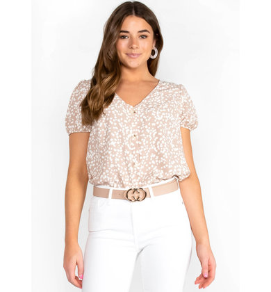 WORLD OF GOOD PRINTED BLOUSE