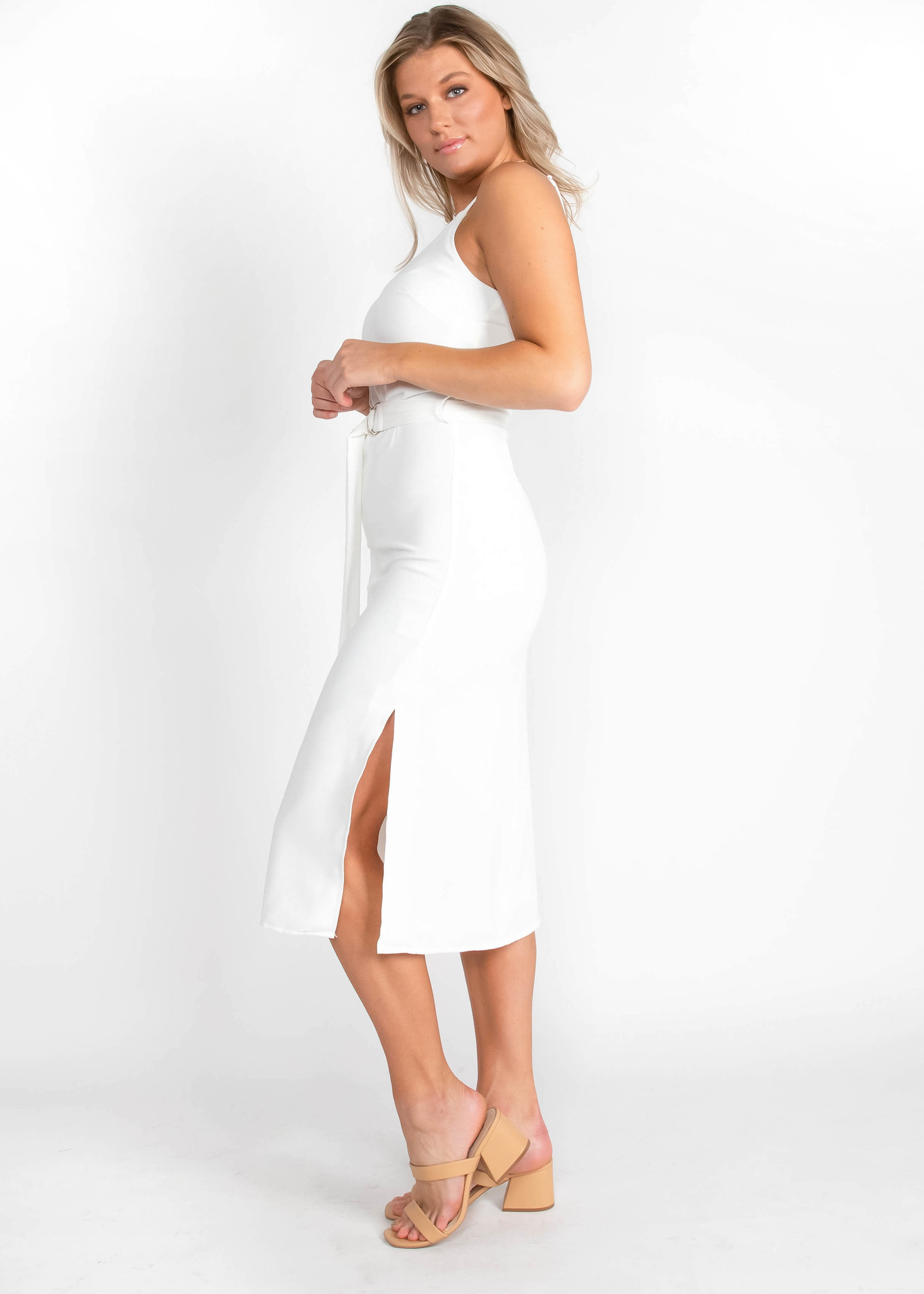 LOVE WITHOUT END WHITE DRESS