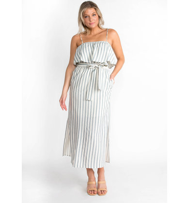 GOOD SPIRITS STRIPED DRESS