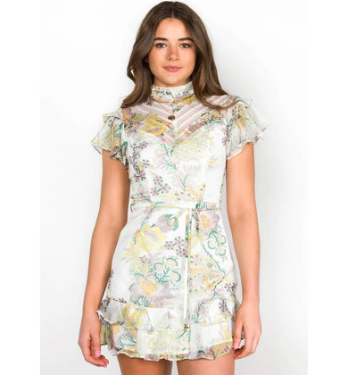 SUNSHINE TO FLOWERS DRESS