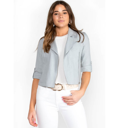 EASY GOING LINEN JACKET