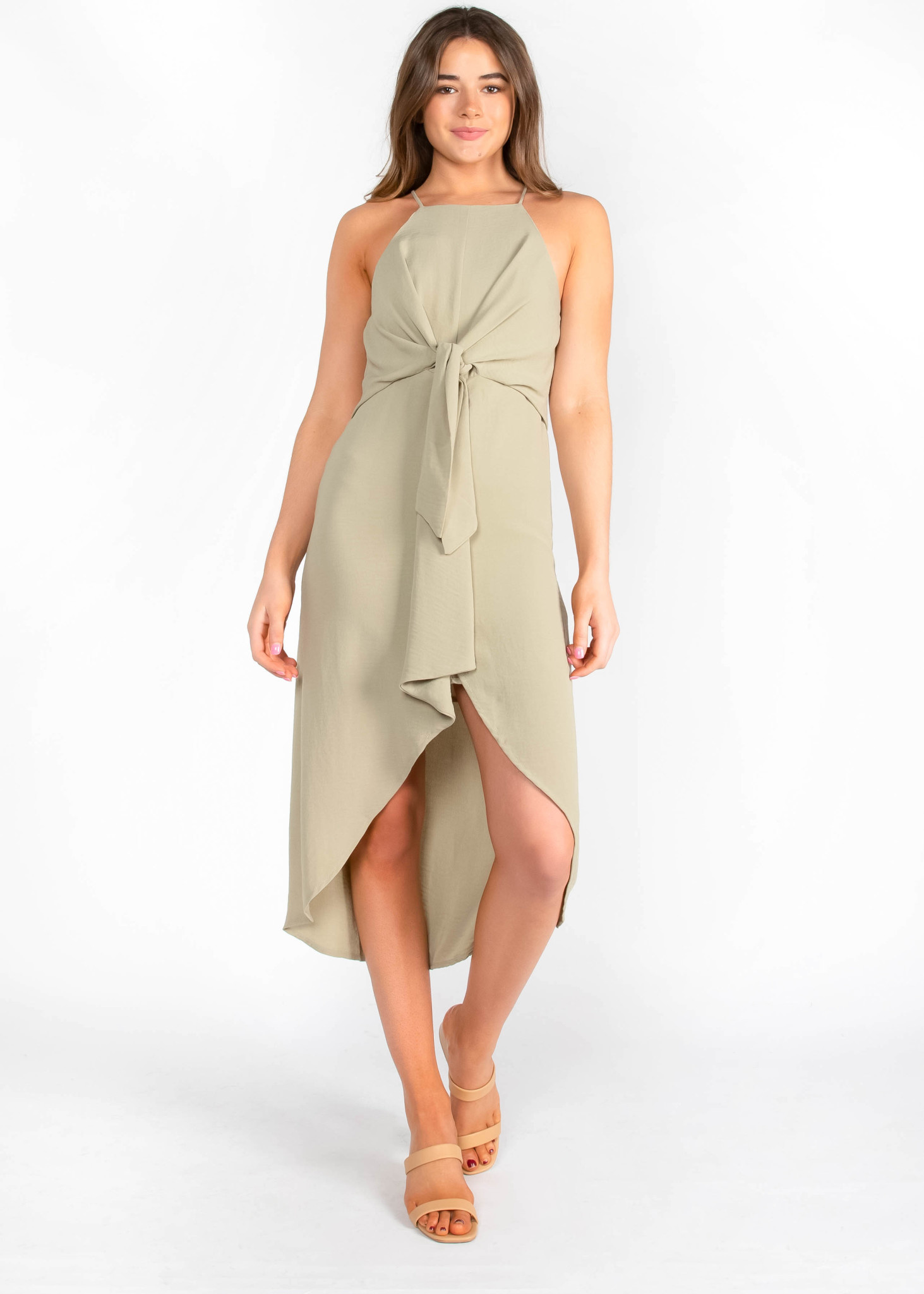 WHERE TO BEGIN HIGH LOW DRESS
