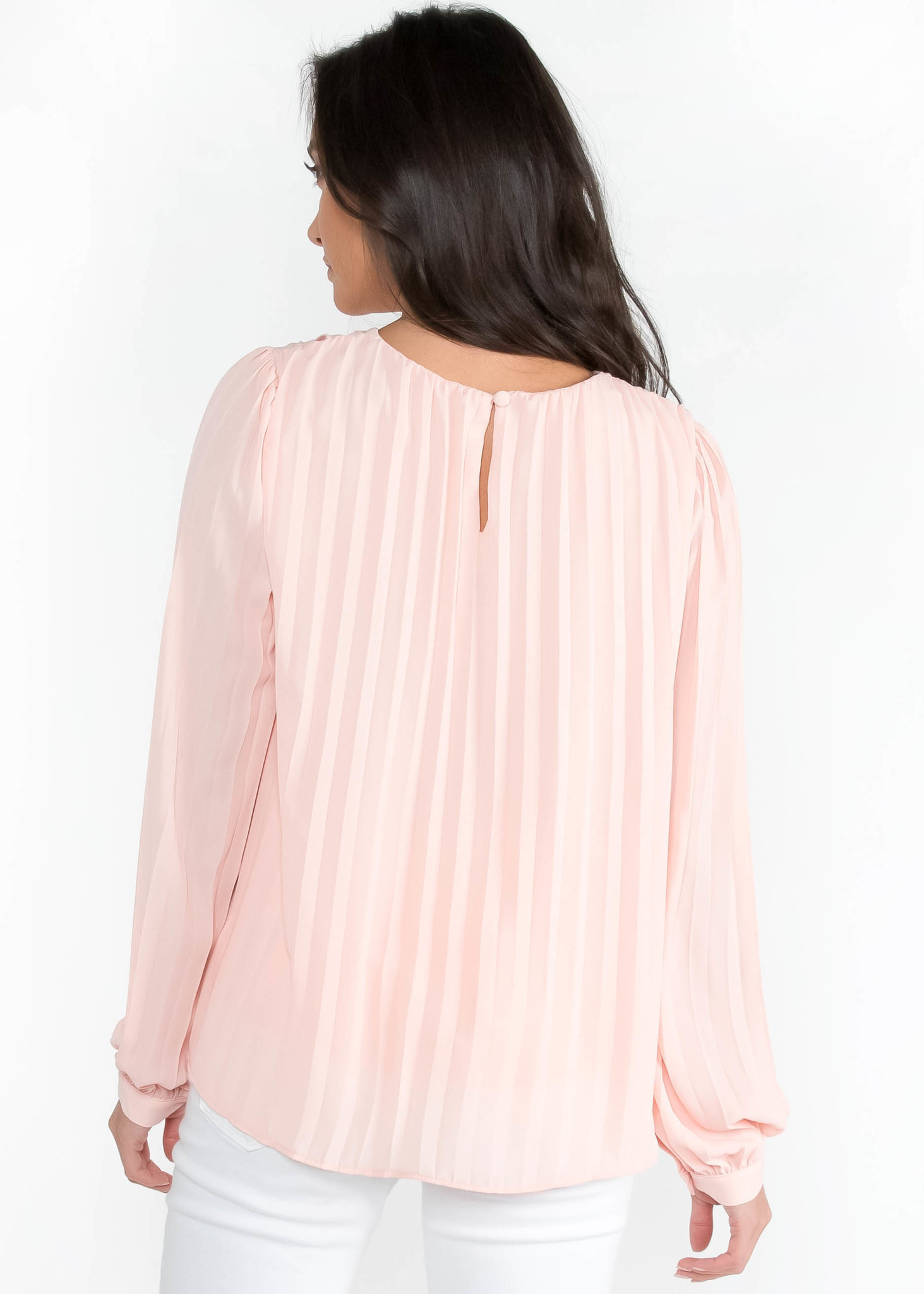 SUNDAY BEST PLEATED BLOUSE