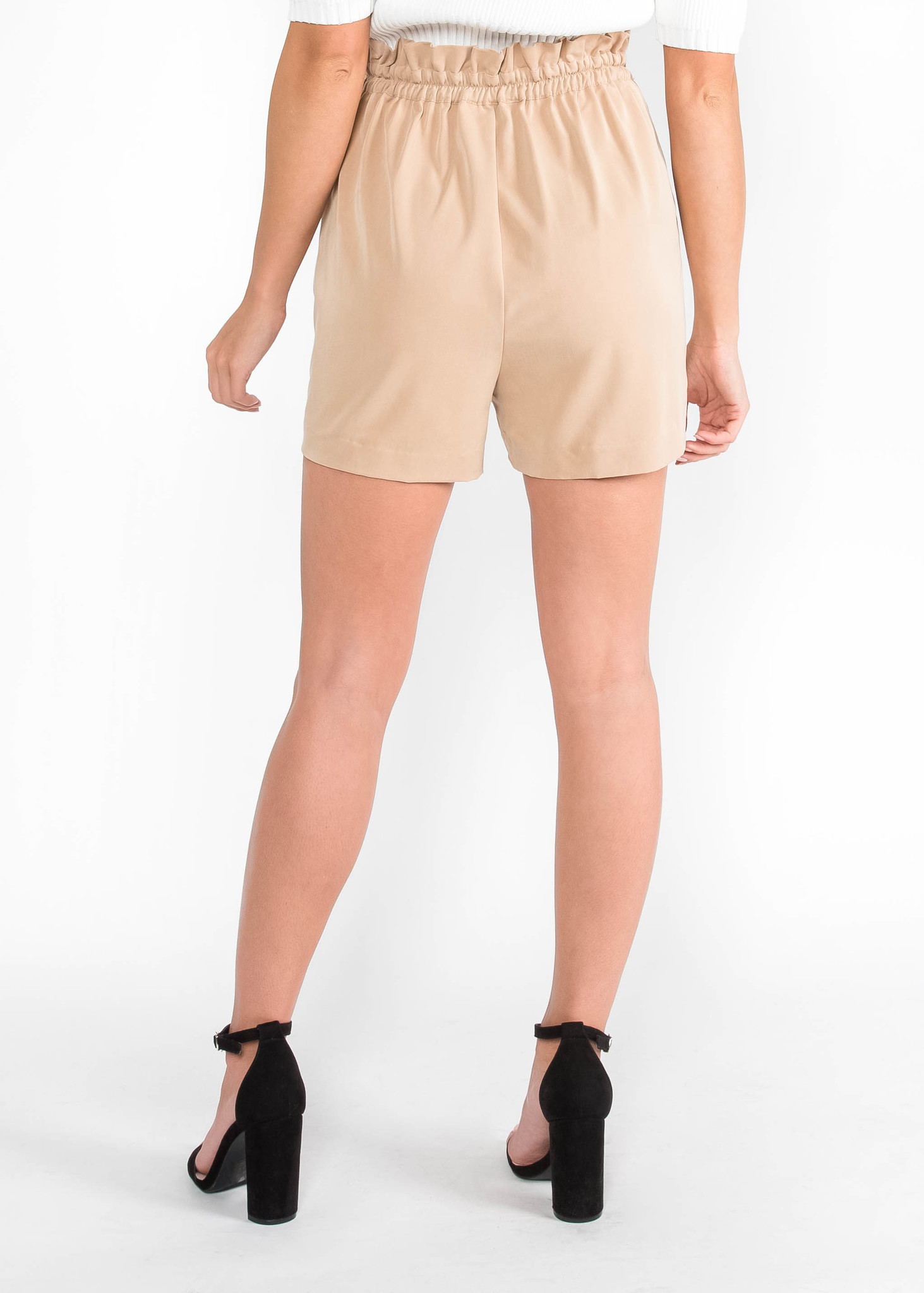 COMMON GROUND BELTED SHORTS