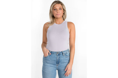 LAYERED IN LILAC TANK TOP