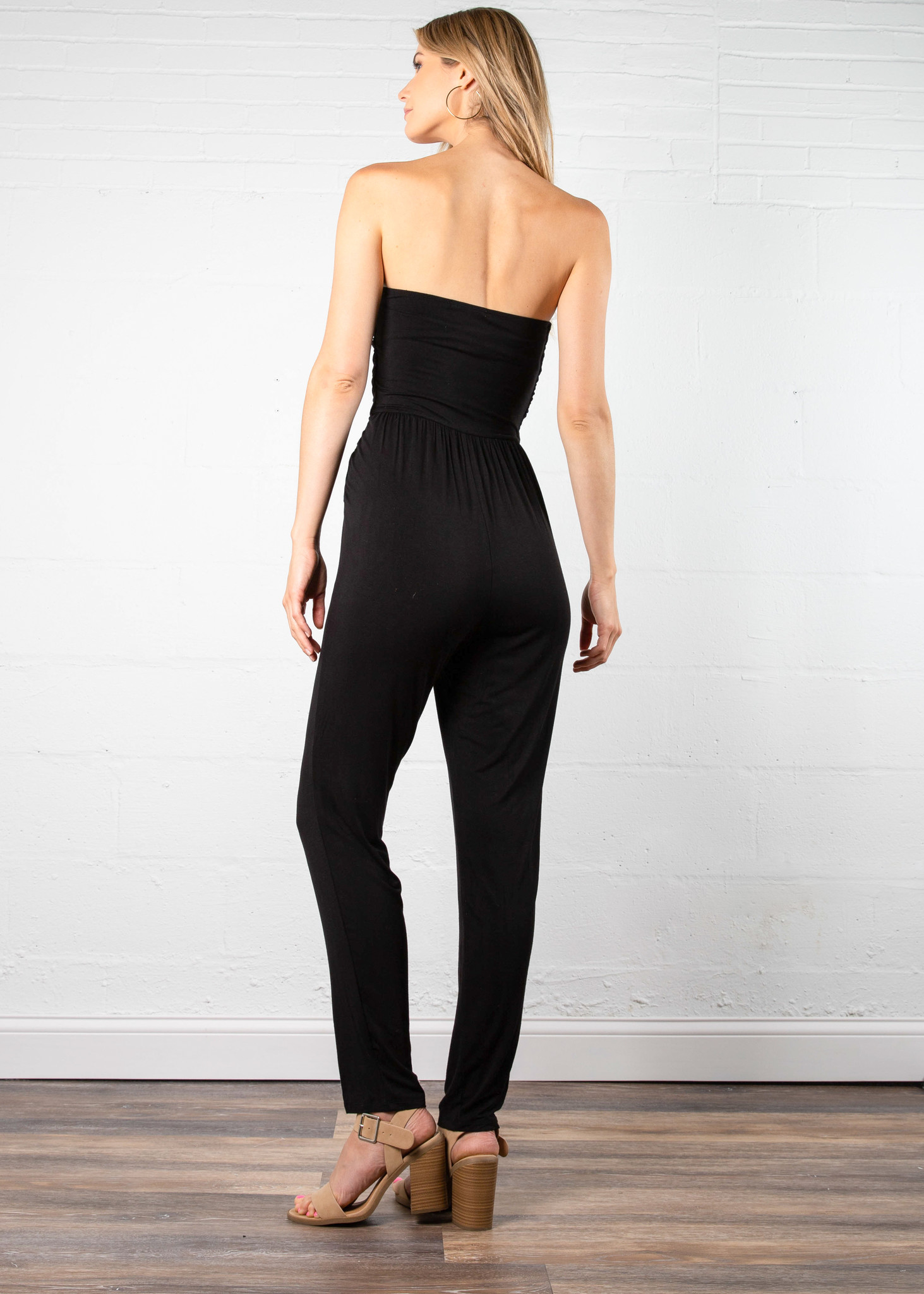 CHANNING STRAPLESS JUMPSUIT