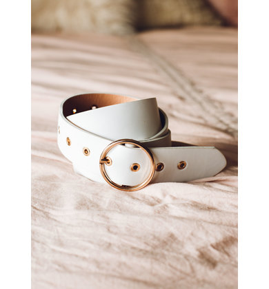 CITY LIGHTS BELT - WHITE
