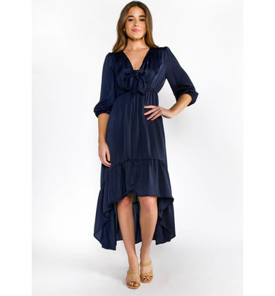 SPARKS FLY MAXI DRESS - NAVY