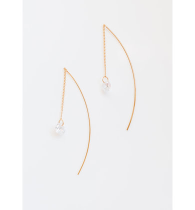 SIERRA THREADER EARRINGS