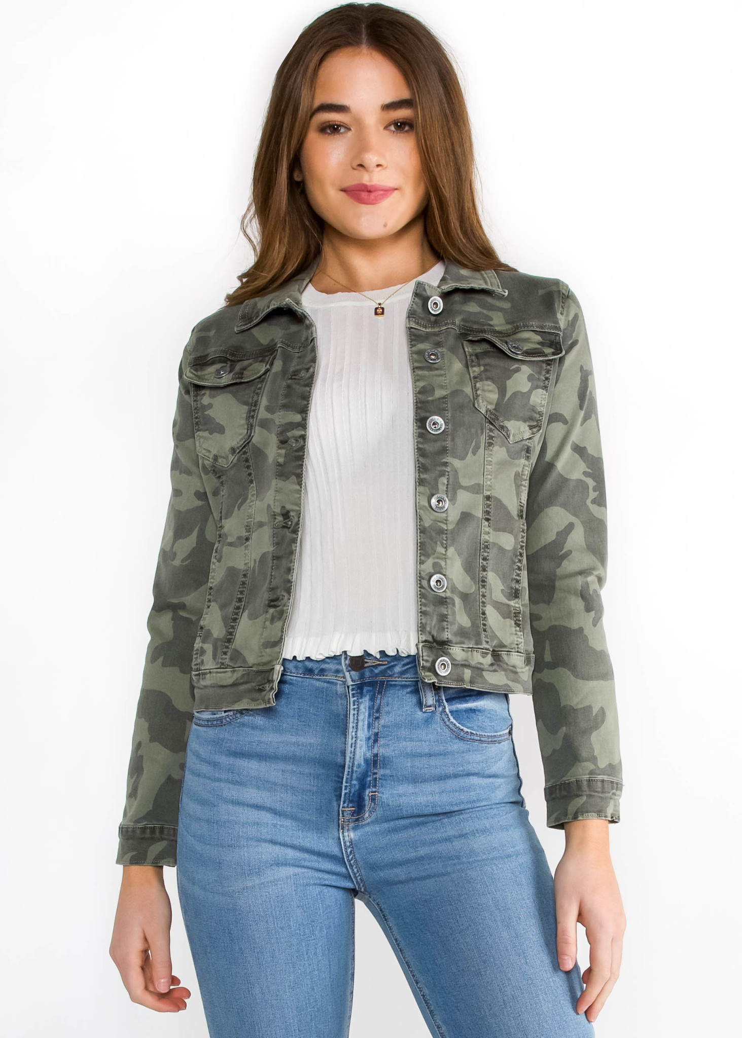 LOST IN TRANSITION CAMO JACKET