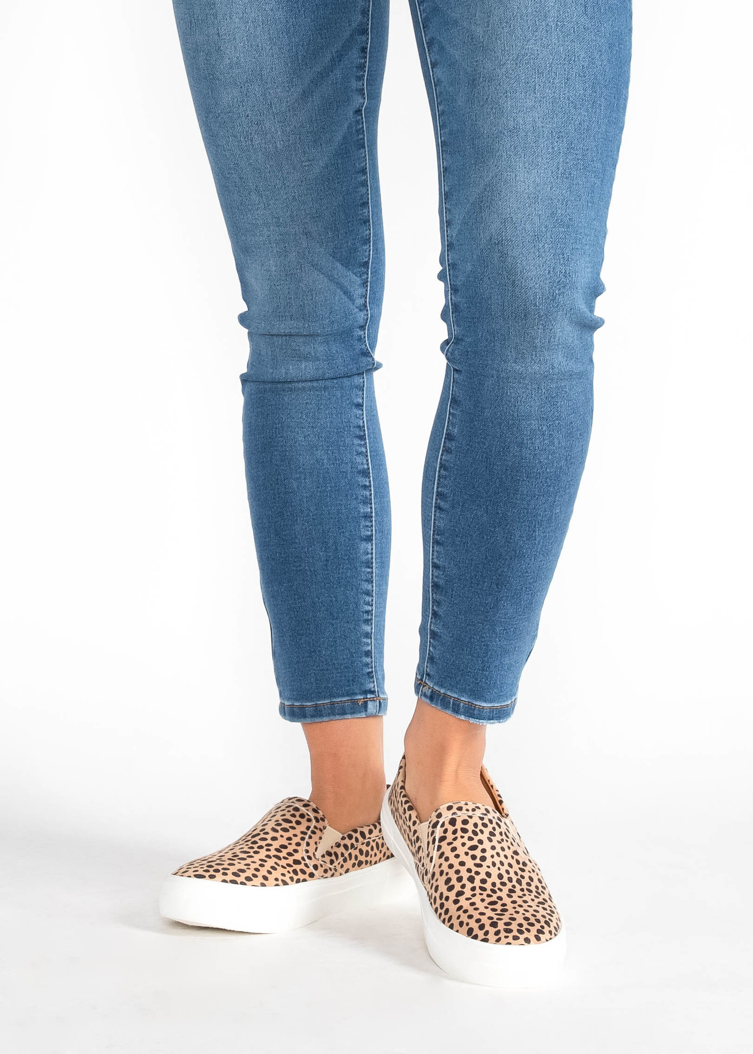 JUMP AROUND LEOPARD SNEAKERS