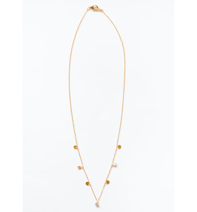MEMORY LANE GOLD NECKLACE