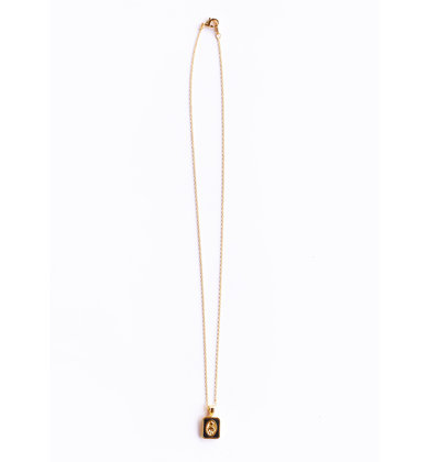 ROUTINE NECKLACE - BLACK
