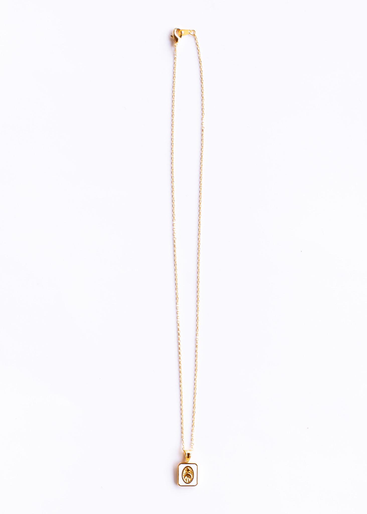 ROUTINE NECKLACE - WHITE
