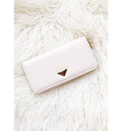 RIGHT ROUND WALLET - IVORY